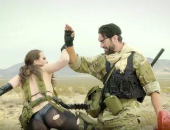 Lanzan parodia porno de Metal Gear Solid: Metal Rear Solid