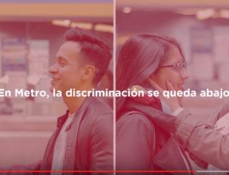 El Metro de Santiago lanza campaña contra la homofobia